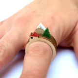 Mini Landscape Stackable Rings