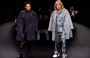 Zoolander & Hansel Close Out The Valentino Fashion Show