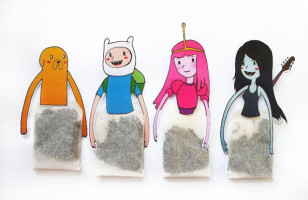 Adventure Time & More Cartoon Characters As Tea Bag Hangers