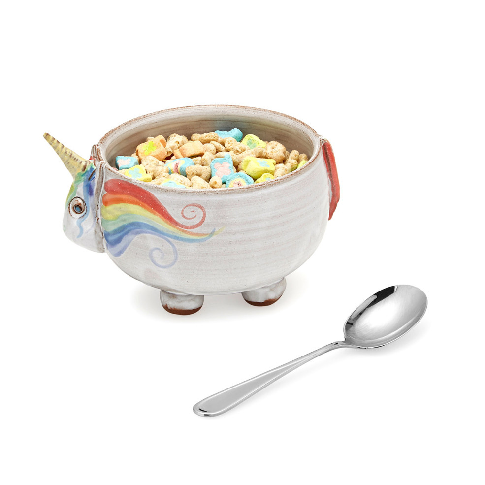 This unicorn bowl will make your cereal taste more magical ccuart Image collections