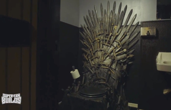 This Game Of Thrones Toilet Is Fit For A King