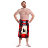 Kilt Beach Towel