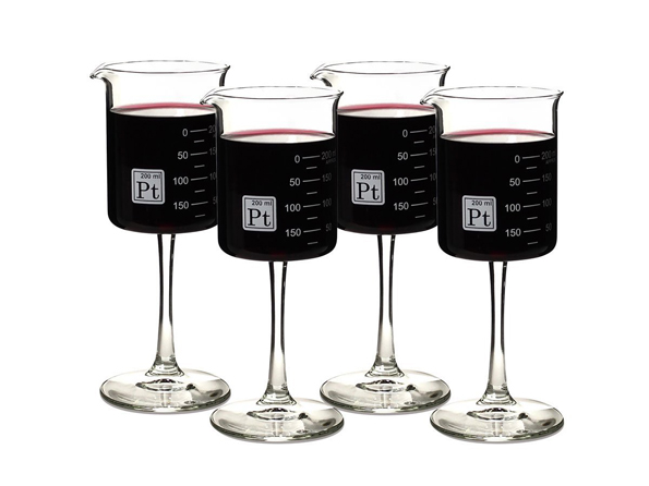 This Laboratory Wine Glass Set Combines Booze And Science