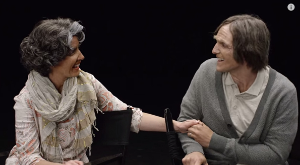 Watch As A Couple Is Aged Into Their 90s Using Makeup