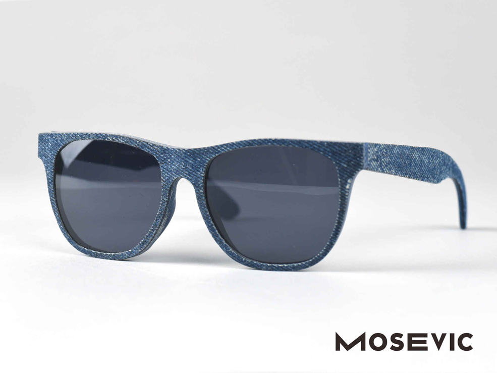 Check Out These Sunglasses Handcrafted From Denim Jeans