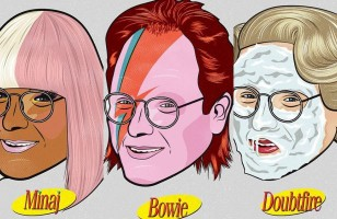 An Artist Turns George Constanza Into Pop Culture Icons