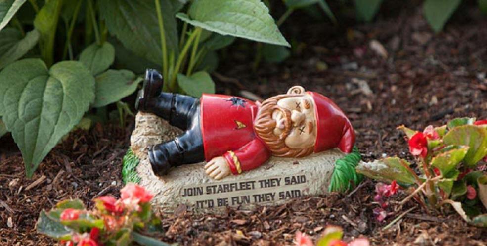 Your Yard Needs These Star Trek Garden Gnomes
