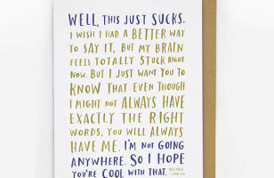 A Line Of Sympathy Cards Created By A Cancer Survivor