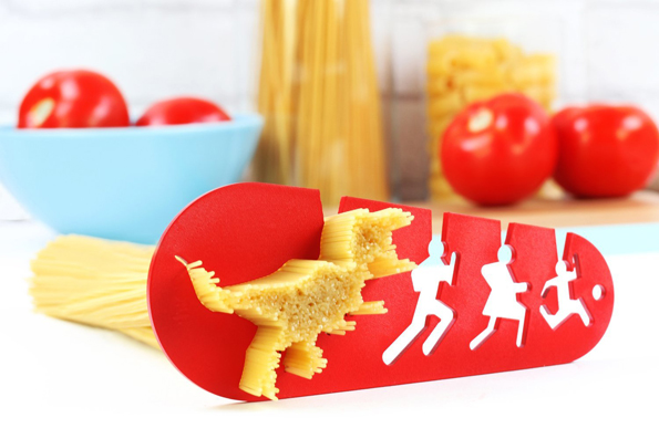 Run! The T-Rex Spaghetti Measurer Is Coming Your Way