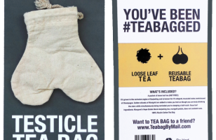 Anonymously Send Your Enemies A Testicle-Shaped Tea Bag