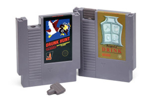 Drink From A Flask Made From An Old NES Video Game Cartridge