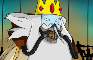 This Adventure Time x Mad Max Mash Up Is Totally Mathematical