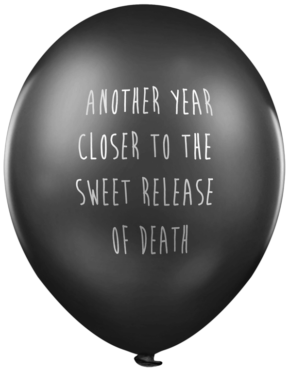If You Have A Dark Sense Of Humor, You'll Love Lead Balloons