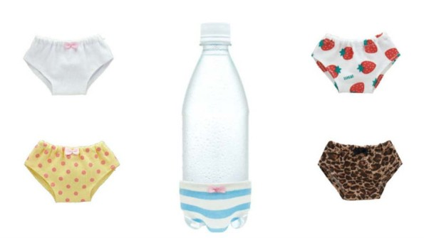 Underwear For Bottled Water Because I Don't Know Actually
