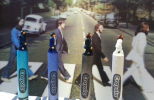 Wow! These Pop Culture Crayon Sculptures Are Amazing