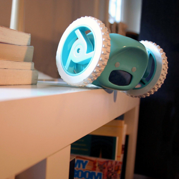 Clocky Is An Alarm Clock That Runs Away So You Can't Snooze