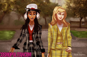 What If The Disney Princesses Starred In Clueless…?