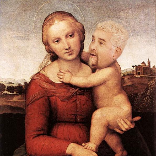Guy Fieri As Renaissance Babies Will Give You All The Nightmares