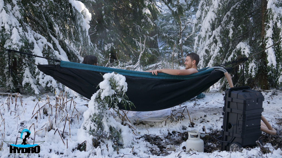 The Hot Tub Hammock: The Most Genius Invention For Summer