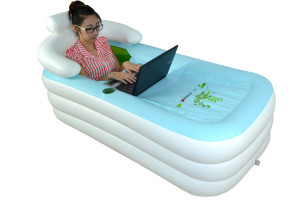 Now You Can Bathe Anywhere With The Inflatable Bathtub
