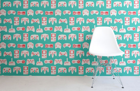 1Up Your Rec Room Decor With These Retro Game Wall Murals