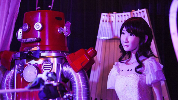The World's First Robot Wedding… Because Love Is Real?