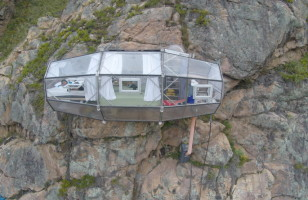 Stay In A Glass Hotel Room Hanging Off The Side Of A Cliff