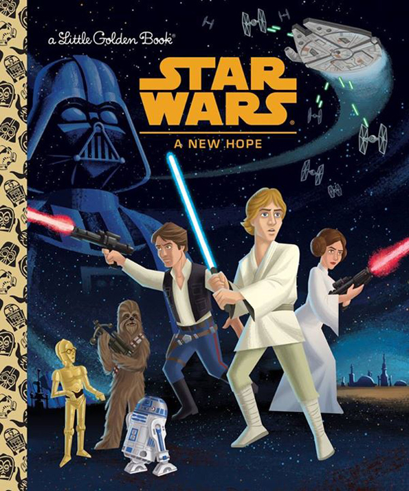 The First 6 Star Wars Movies Are Being Sold As Little Golden Books