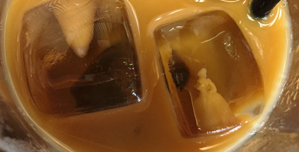 A Disney Princess (Cinderella, Maybe?) Spotted In An Ice Cube