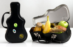 The Guitar Case Lunch Box Are For Students Of ROCK!