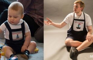 Watch As One Guy Dresses Up As Prince George For A Week