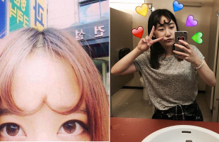 Apparently Heart-Shaped Bangs Are All The Rage In South Korea