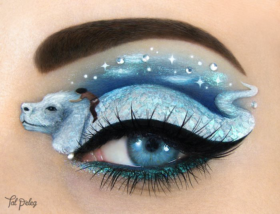 Eye Art Design : Fantastic eye makeup art you have to see believe