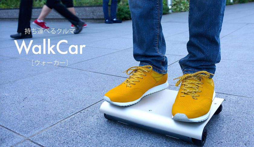 The WalkCar Is Like A Skateboard And A Segway Combined