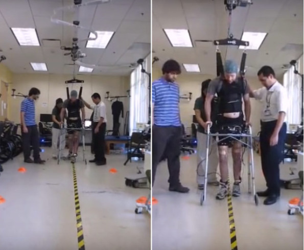 Watch As A Paralyzed Man Walks Again Thanks To Technology