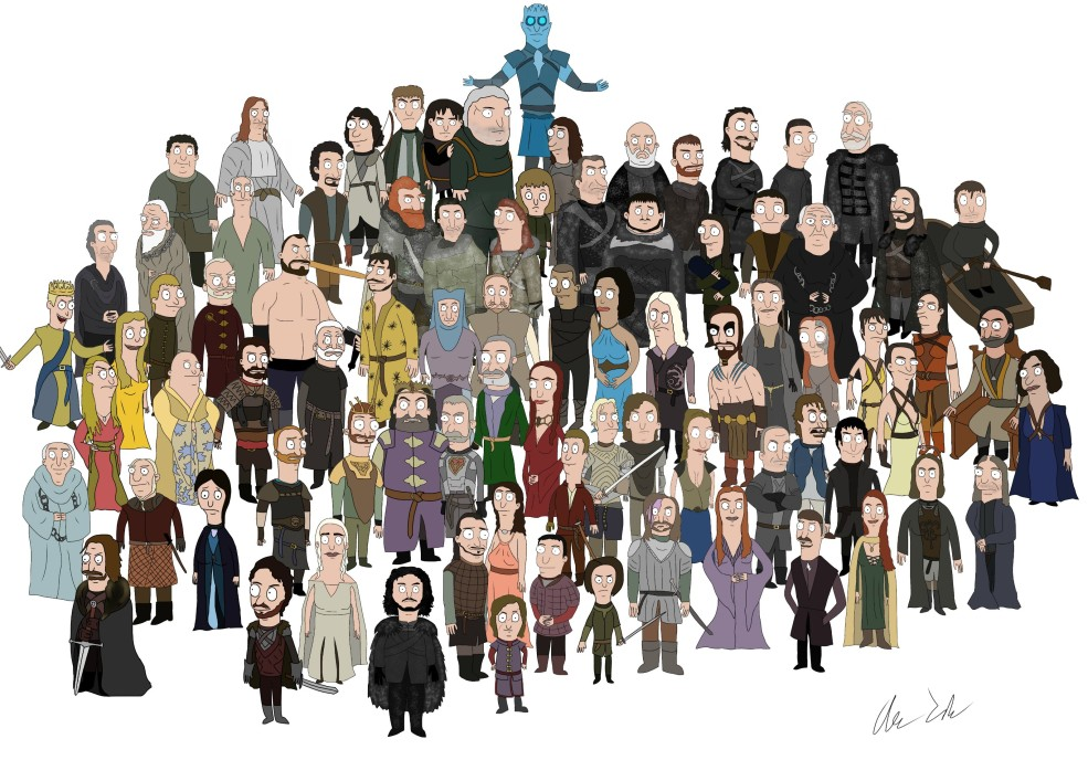 Bob's Burgers x Game Of Thrones = Amazing Unlikely Mash Up