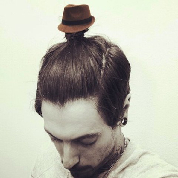 The Man Bun Fedora Is Clearly A Sign For The End Of Times