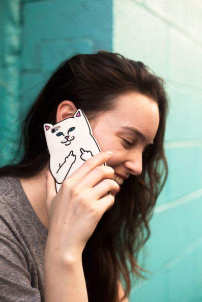 The Sassiest Cat Phone Case You Never Knew You Needed