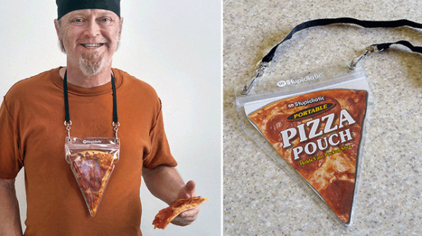 The Portable Pizza Pouch Is Both Practical AND Fashionable