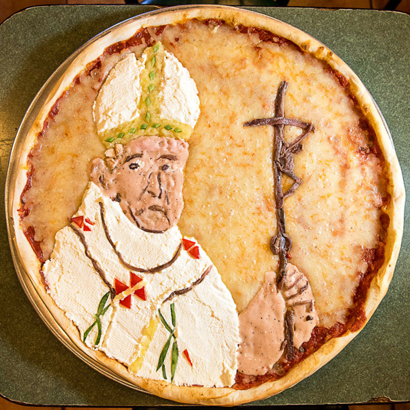The Pope Pizza Is The Perfect Pie For The Pope Of The People