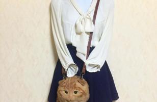 Realistic Cat Handbags For Fashion Loving Kitty Enthusiasts