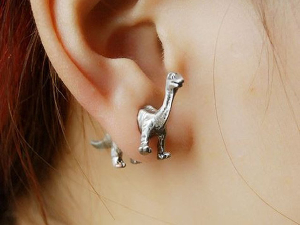 You're Definitely Gonna Want A Pair Of These Dinosaur Earrings