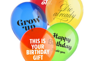 Celebrate The Jerks In Your Life With These Mean Balloons