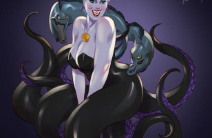 Move Over Princesses, Check Out The Disney Villains As Pinups