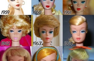 See How Barbie's Face Has Changed Over The Years…