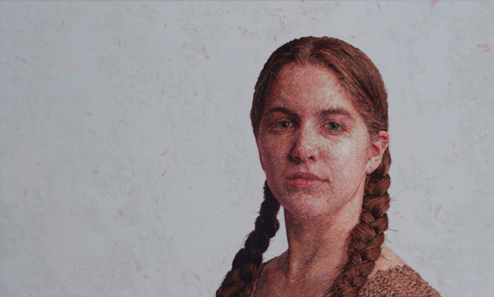 Check Out These Insanely Realistic Embroidered Portraits