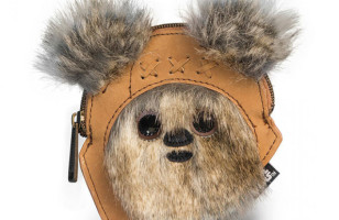 The Force Is Strong With This Furry Little Ewok Coin Purse