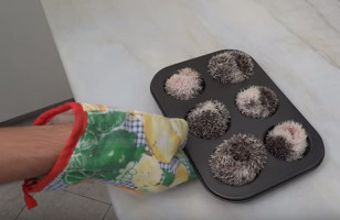 Hedgehogs In A Muffin Tin Is THE Cutest Thing You've Seen