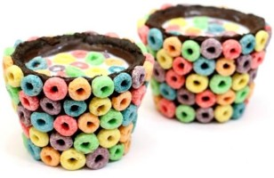 How To Make Fruit Loop Chocolate OREO Cookie Cups