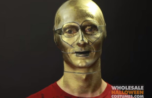 The C3PO Makeup Tutorial You Didn't Know You Needed